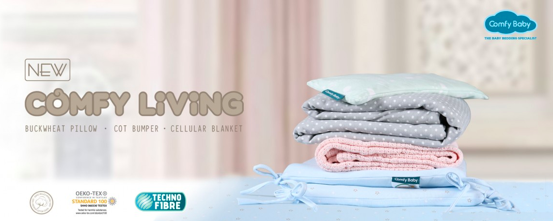 Comfy Living baby bedding collection