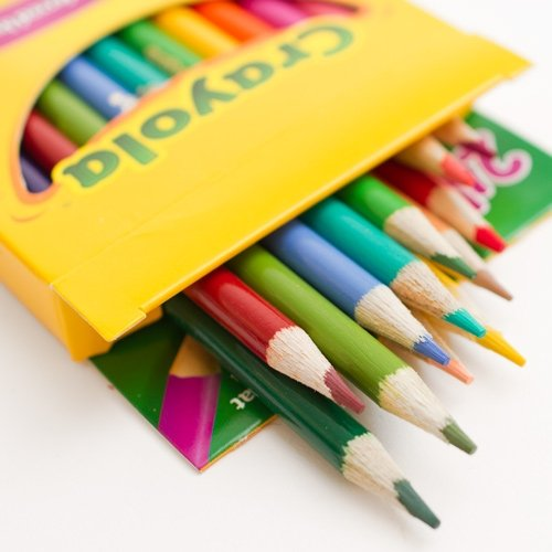 Nontoxic Long Colored Pencils children art