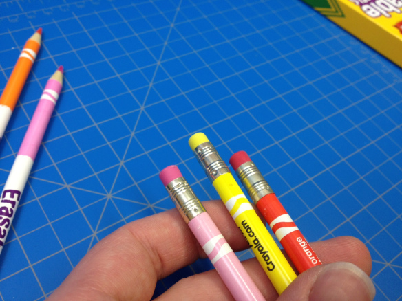 non toxic erasable color pencil children art