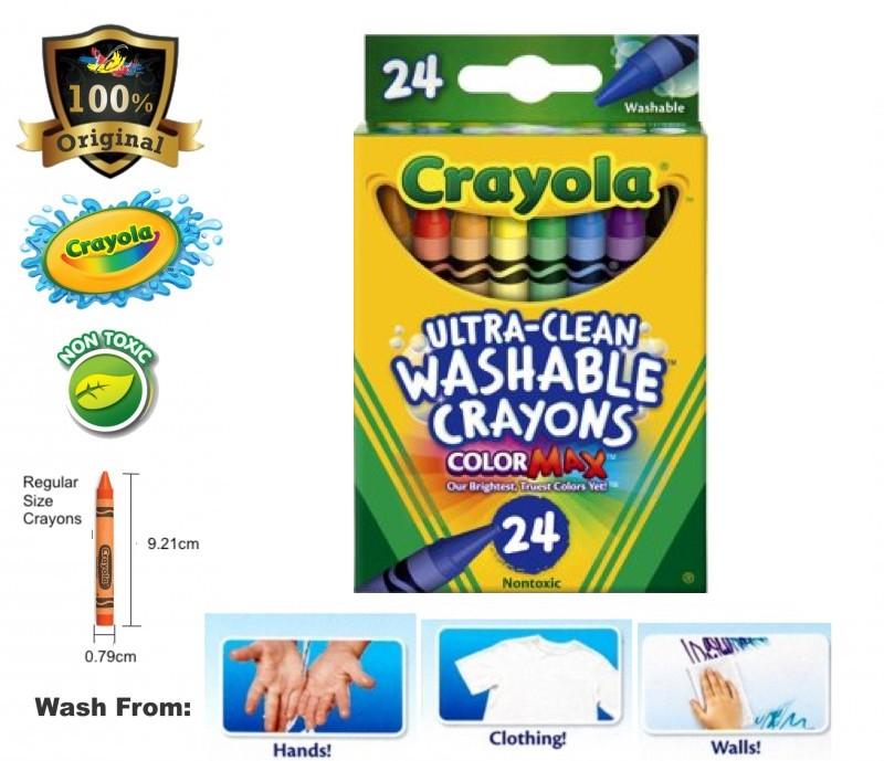crayola ultra clean washable crayons non toxic