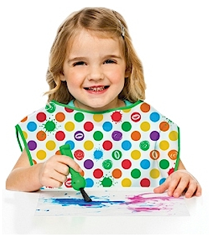 Crayola Art Apron Keep kids and their clothes clean while they explore creating with color
