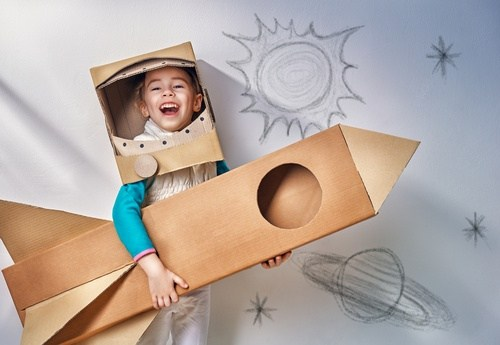 build cardboard creativity sculpture activity toys