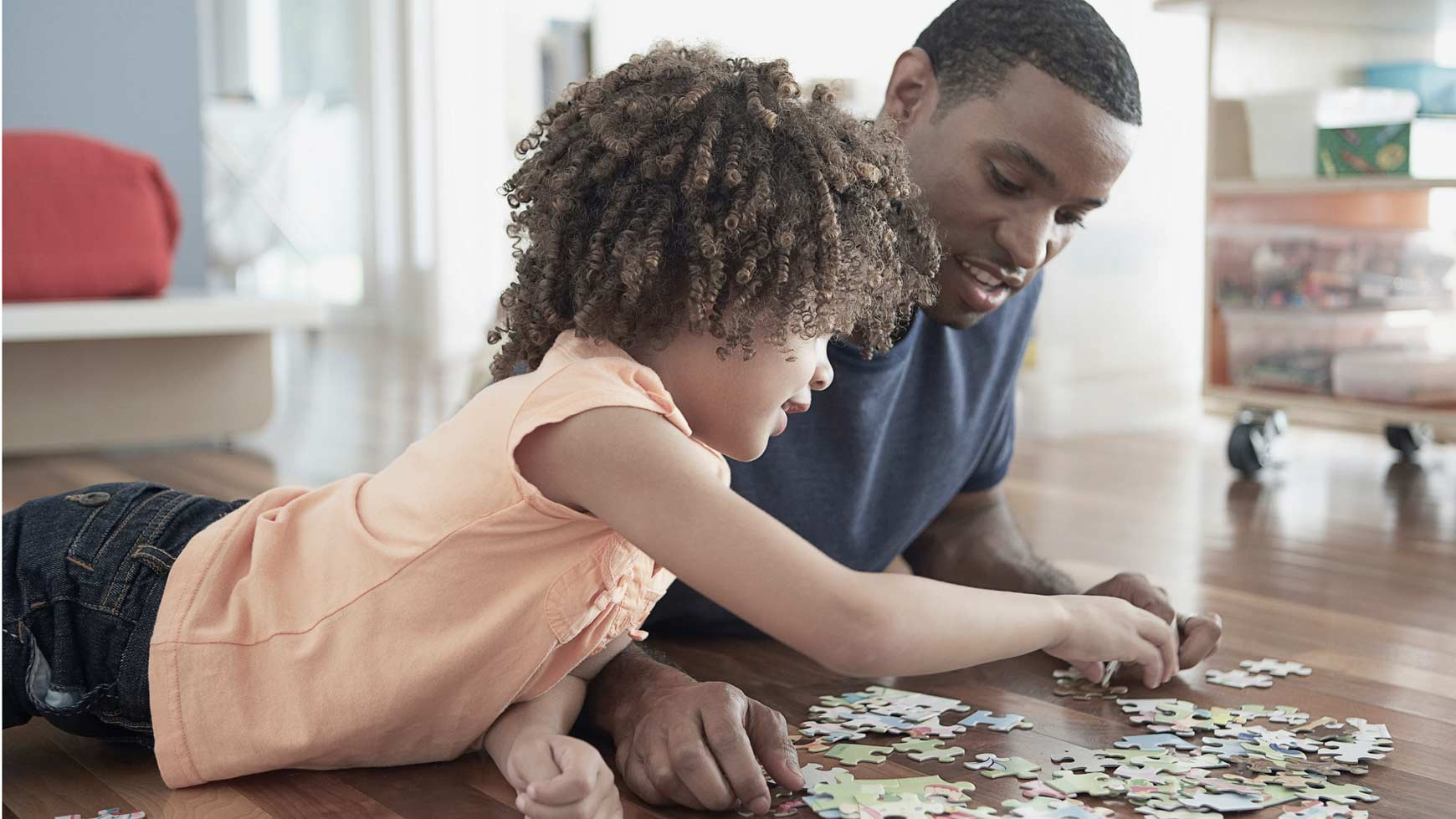 children puzzles to train about focus and patience