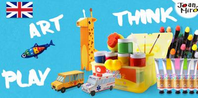 joan miro jar melo children art coloring toys from europe non toxin 儿童安全绘画用品