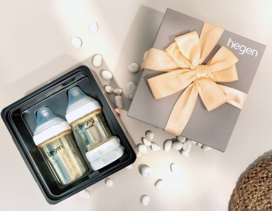 hegen ppsu bottles newborn starter kit collection gift set