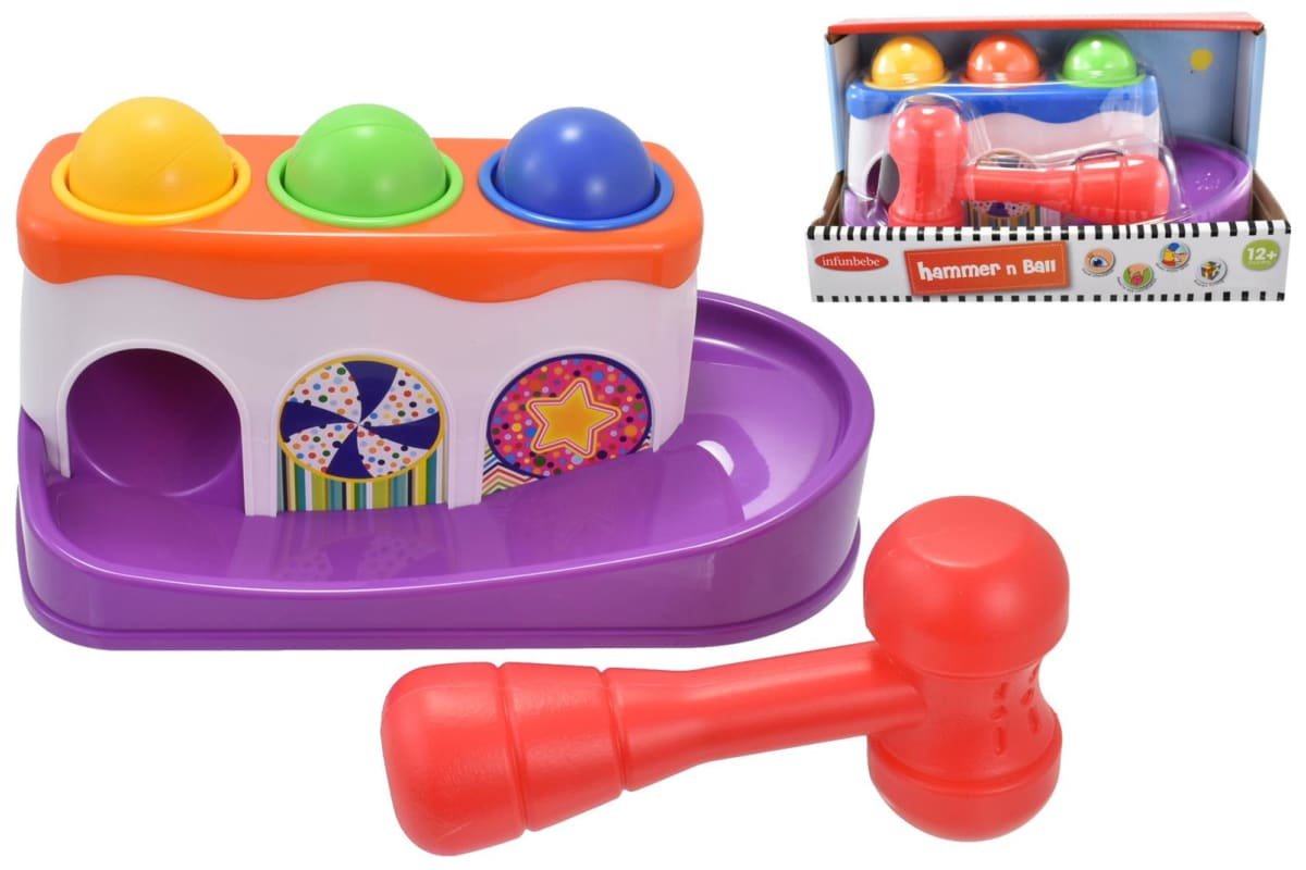 infunbebe hammer and ball toy set 宝宝敲敲打打玩具