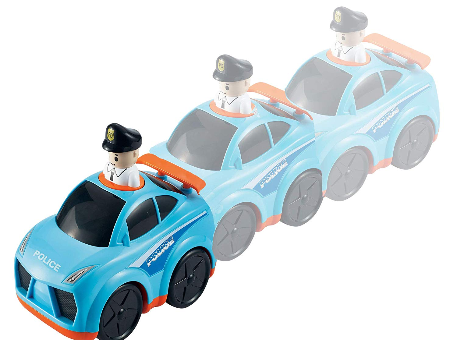 infunbebe press n go car toys vehicle toys 宝宝玩具车精彩车救火车