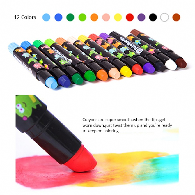 joan miro non toxic silk crayons