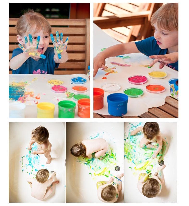 joan miro jar melo finger paint set with manual book