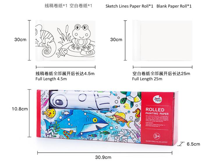 joan miro jar melo painting drawing coloring paper roll