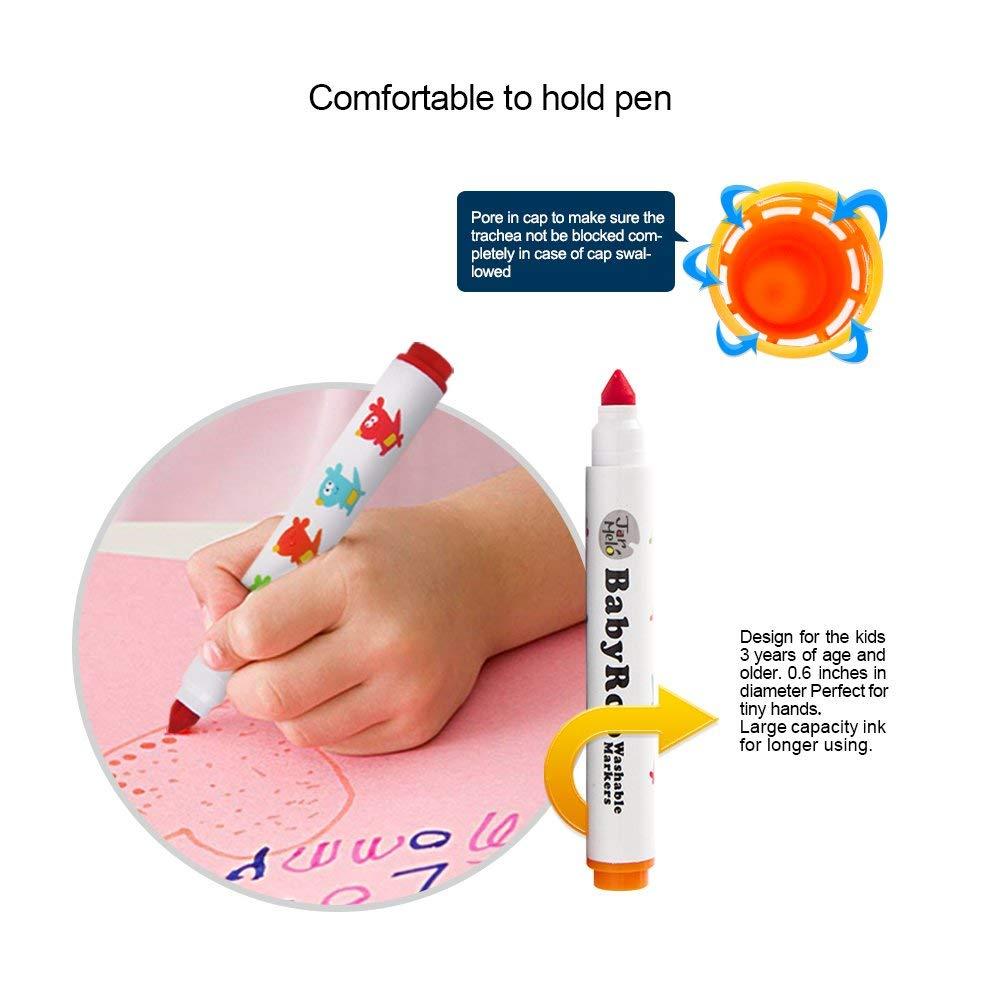 joan miro jar melo babyroo washable coloring markers