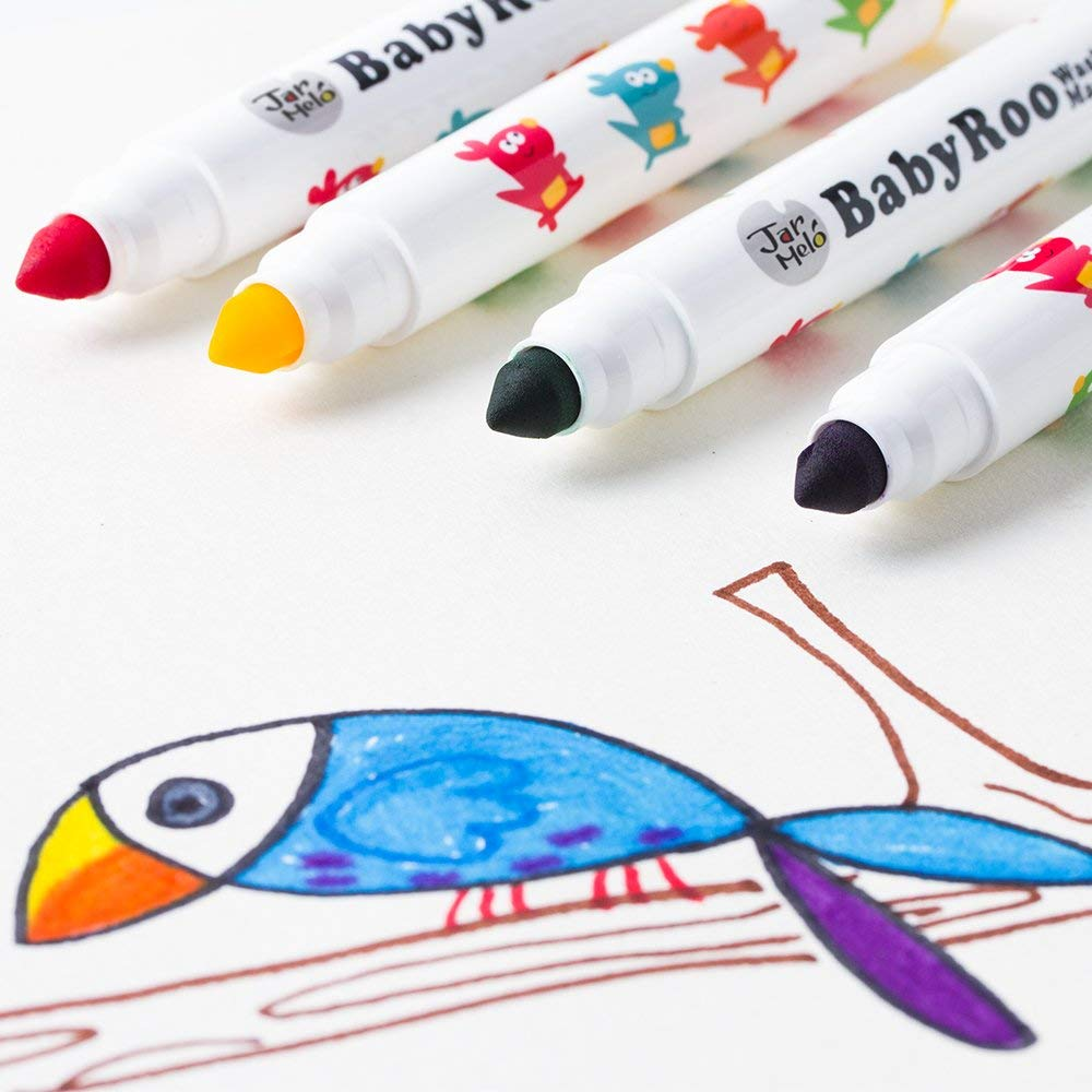 joan miro jar melo babyroo washable coloring markers
