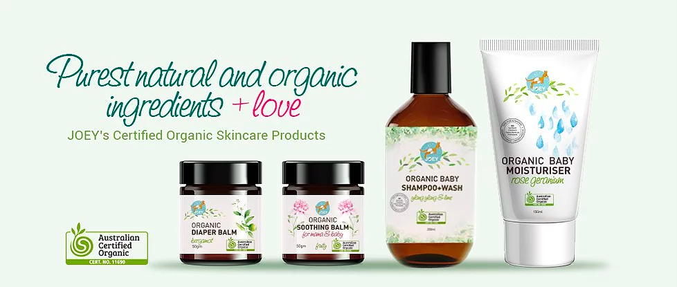 joey natural australia baby skin care