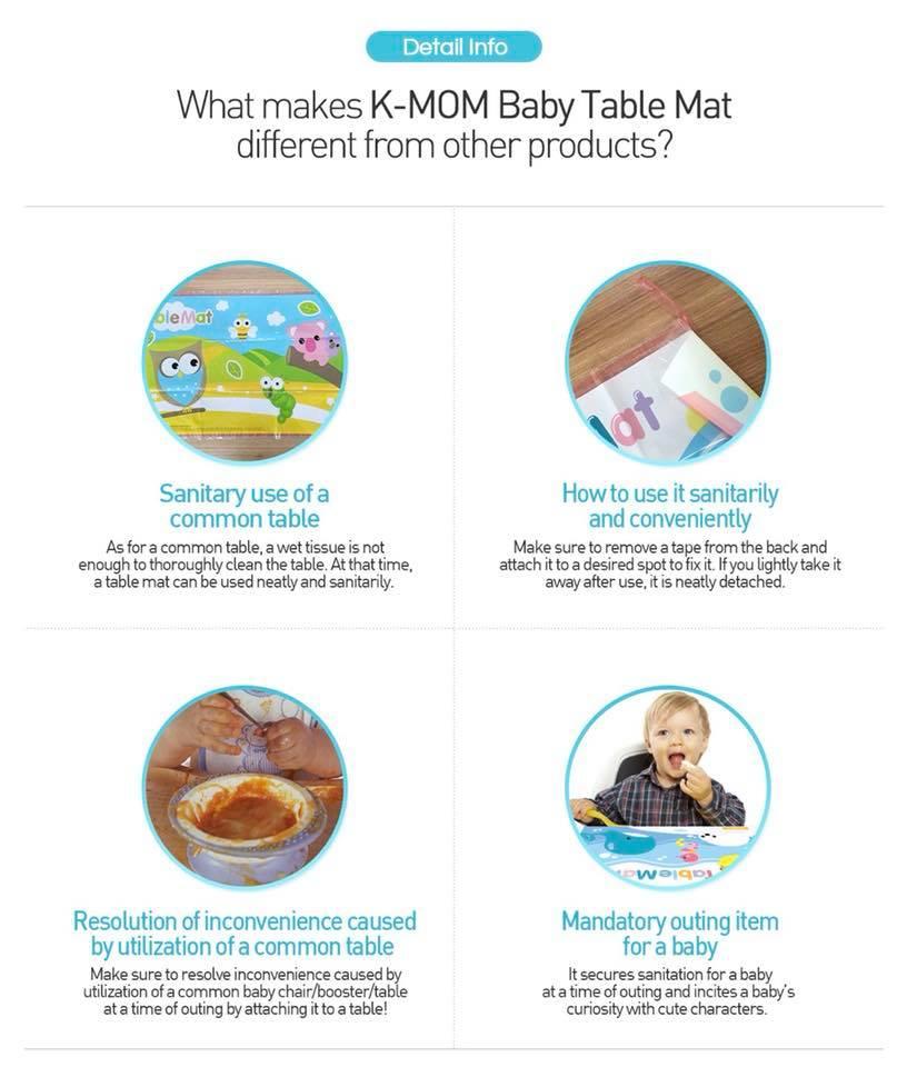 disposable table mat disposable placemat 宝宝吃饭轻便桌垫