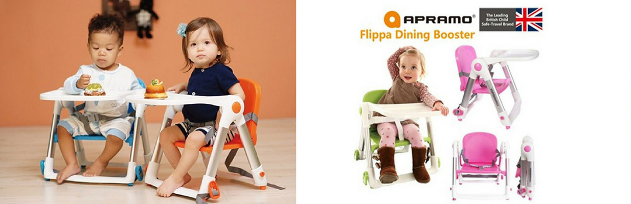 apramo baby portable dinning booster easy travelling with carry bag