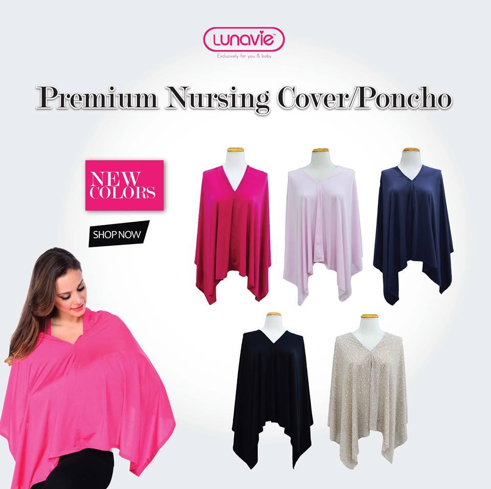 lunavie nylon nursing cover