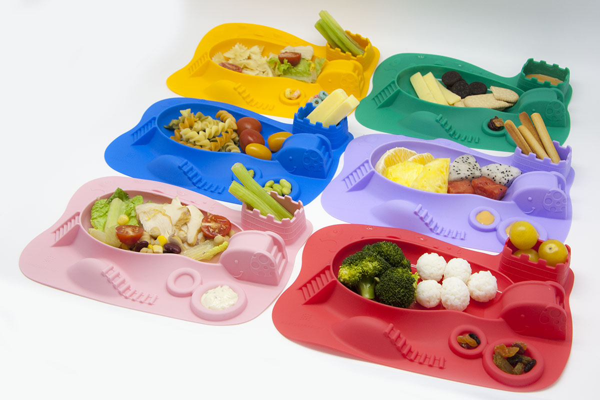 marcus and marcus silicone amusemat dining placemat and plate