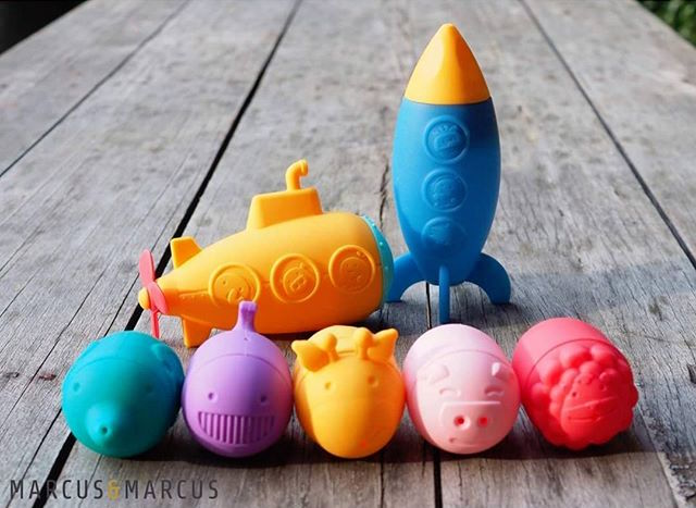 marcus and marcus silicone bath toys
