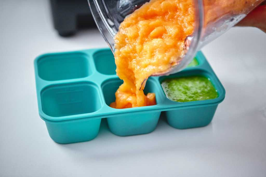 marcus and marcus silicon baby food cube freezer storage