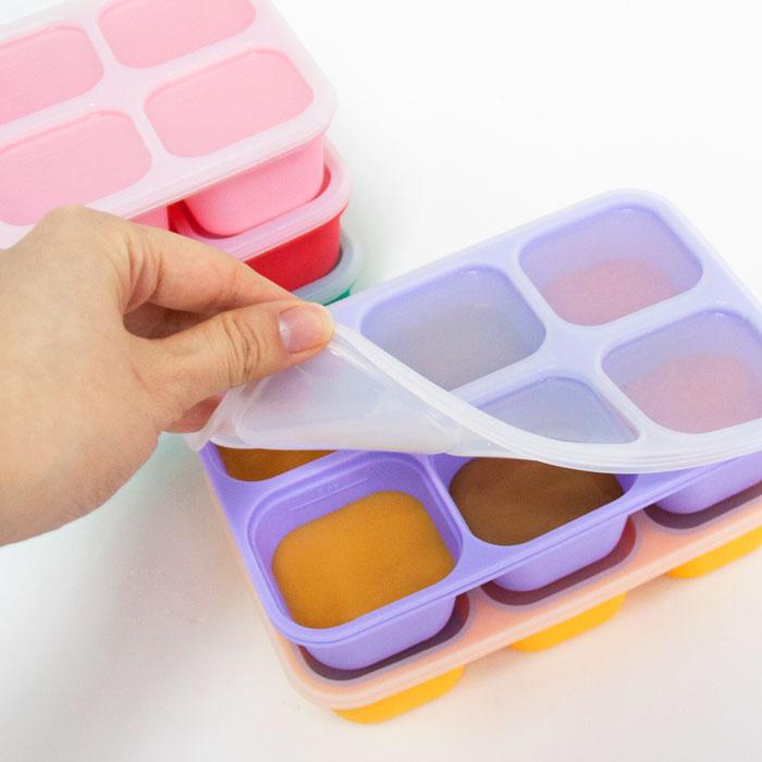 You can prepare your baby's meal ahead of time; pop out and warm up a single portion for lunch and return the rest to the freezer.