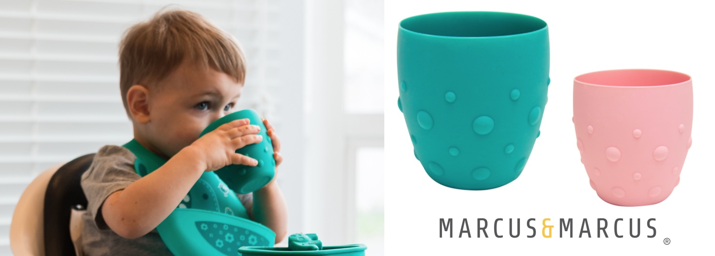 marcus and marcus baby silicone training cup