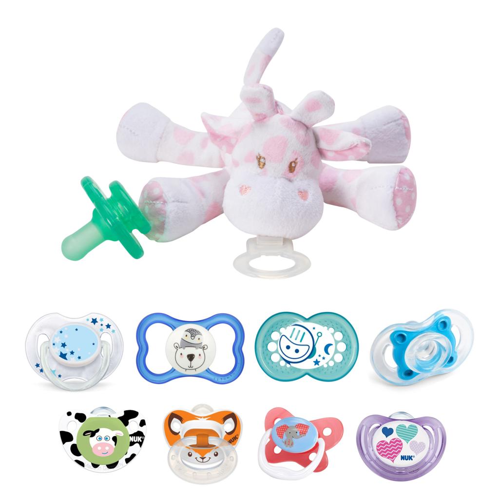 pacifier holder soft toys and comforter nookums 美国安抚奶嘴吊饰