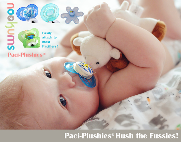 Nookums paci-plushies Pacifier holders