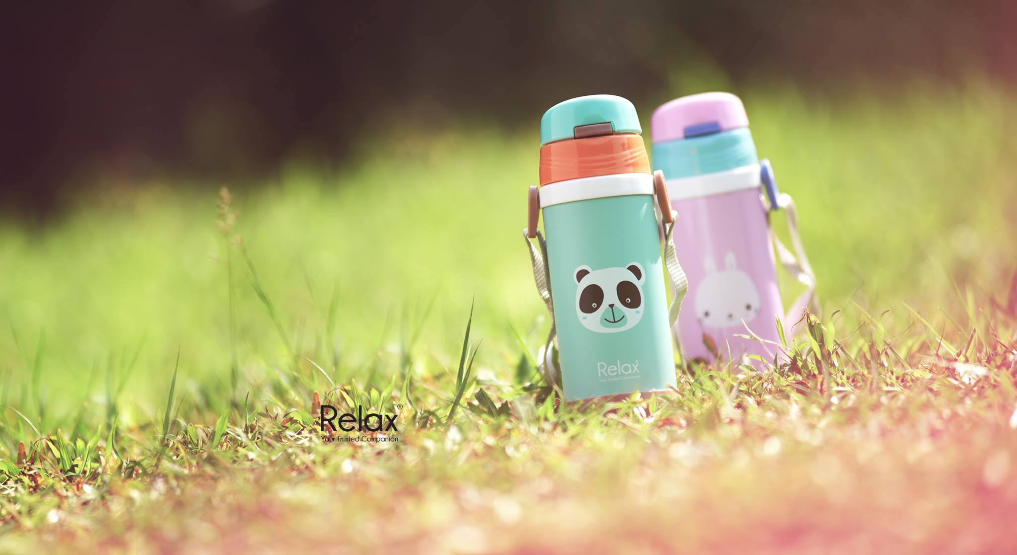 Relax durable high quality tritan water bottle and thermal flask