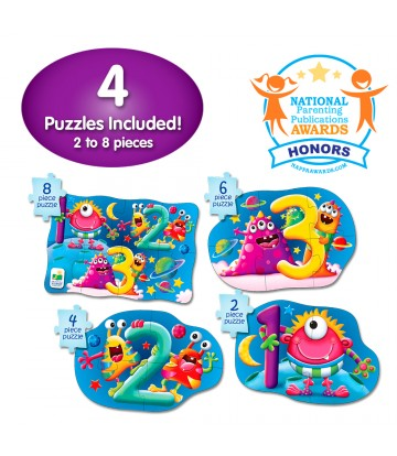 the learning journey international baby early learning first puzzle set numbering 123 宝宝益智拼图玩具学习数字123