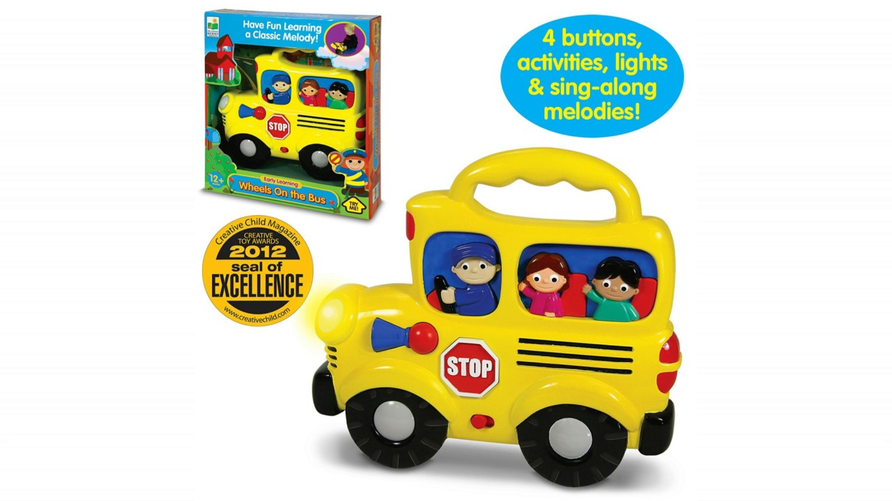 wheel on the bus toy