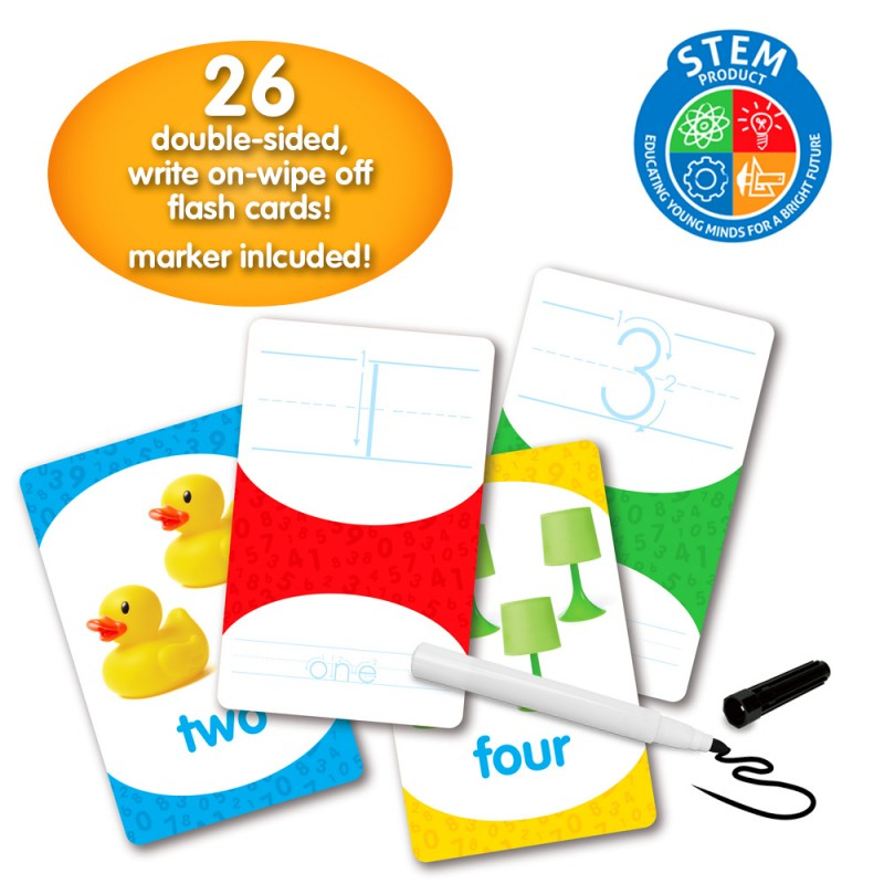 flash cards learn numbers and counting