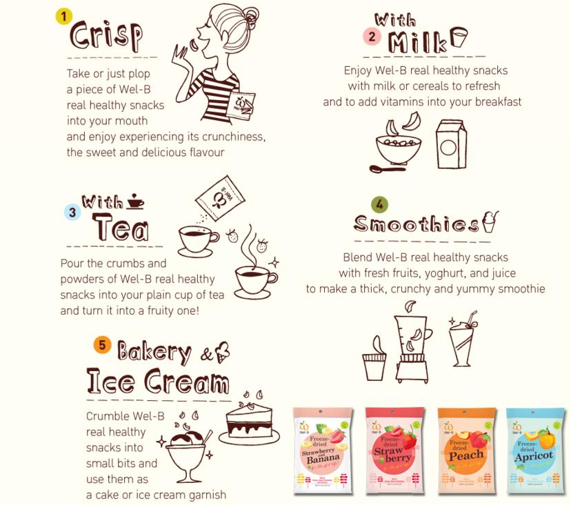 welb organic baby healthy snack freeze dry fruit cookies 宝宝健康有机零食