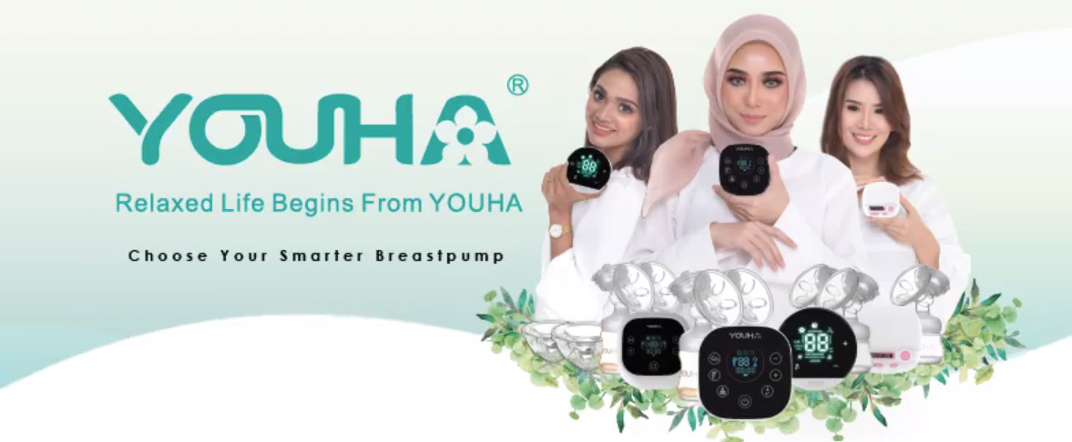 Youha breast pumps and breastfeeding products