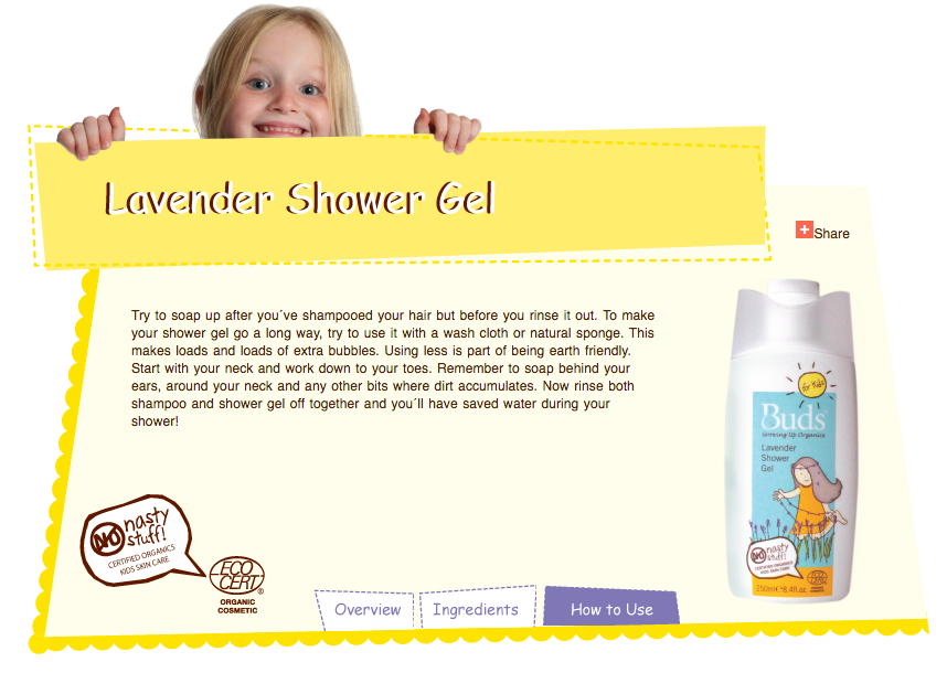 buds organic kids children shower bath shampoo hair wash lavender scent 儿童有机洗澡冲凉洗发水清洁剂