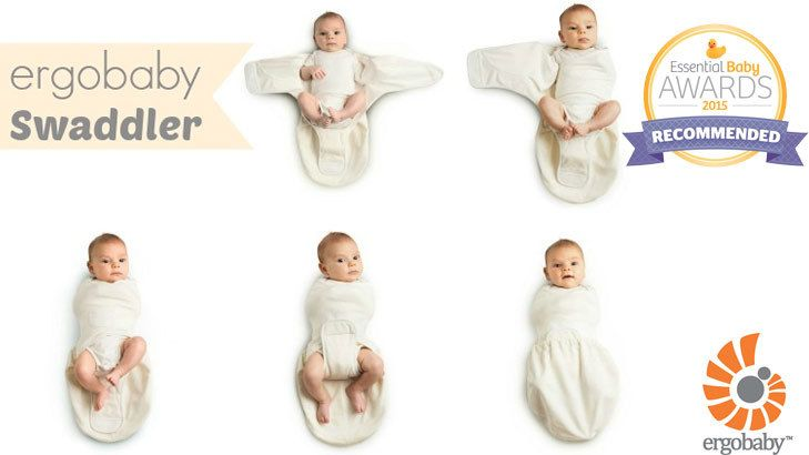 ergobaby sleep tight baby swaddler wrapper 婴儿包裹放惊吓安抚巾
