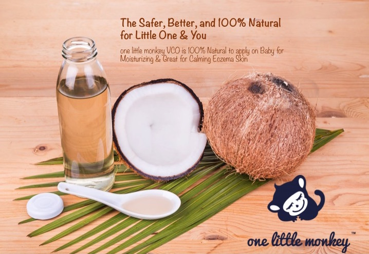 one little monkey virgin coconut oil