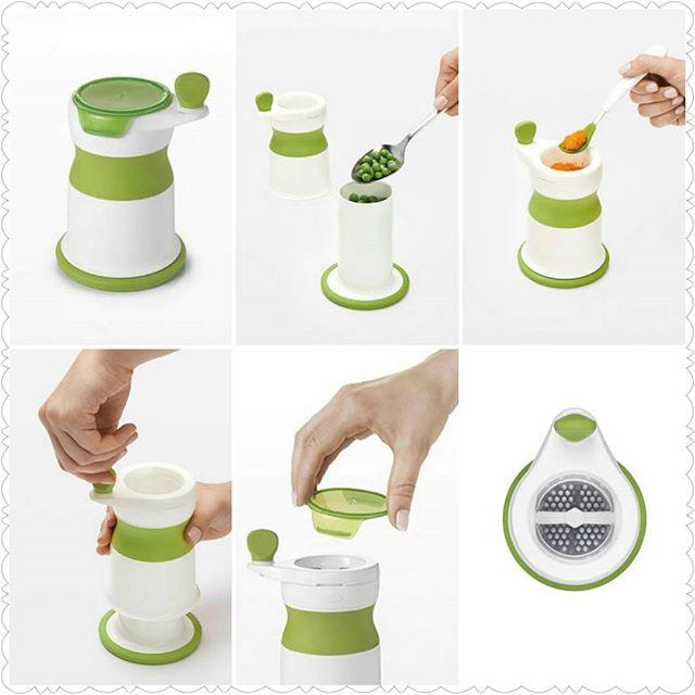 oxo tot baby puree food mill blender puree maker 宝宝辅食泥搅拌