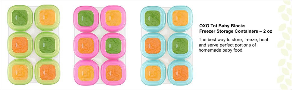 baby blocks meal storage container