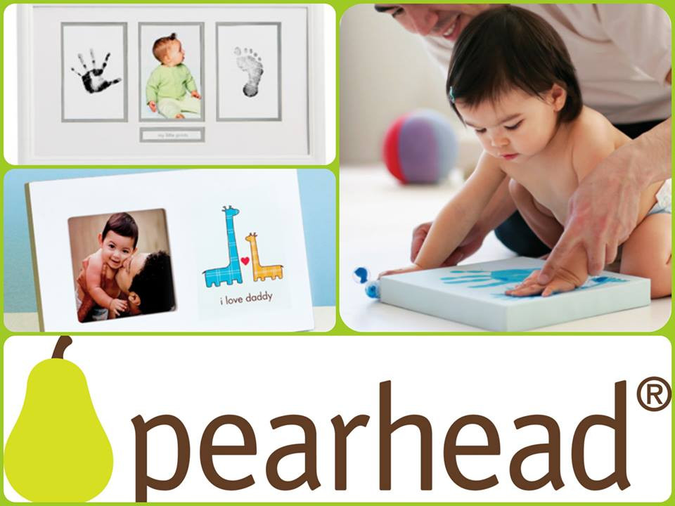 Pearhead baby keepsake memory moment
