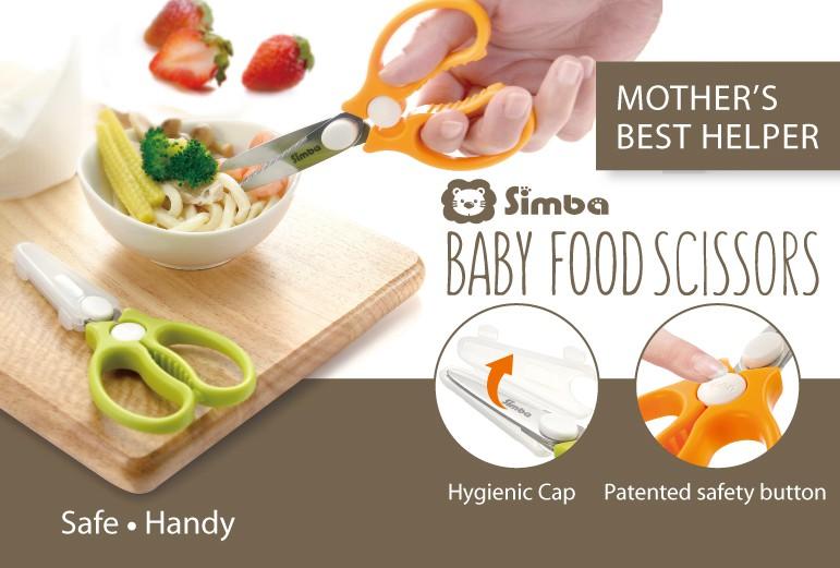 Simba baby food scissor
