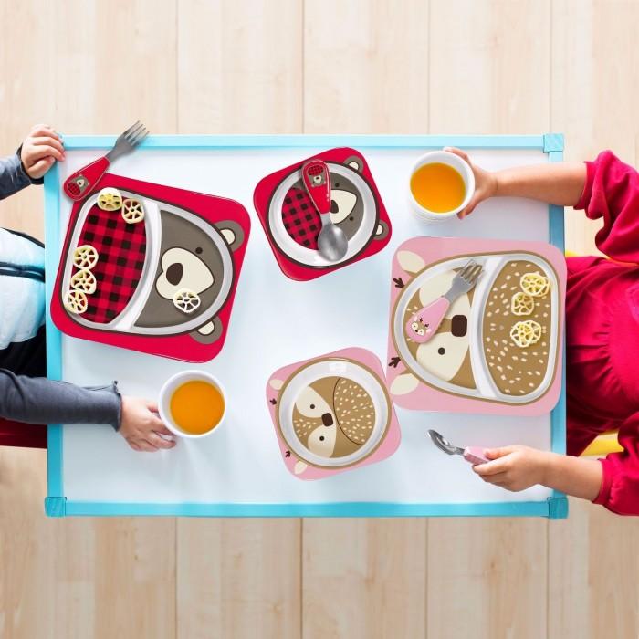 skip hop winter mealtime feeding gift set melamine