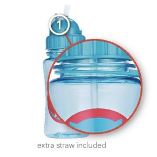 bpa free straw bottle