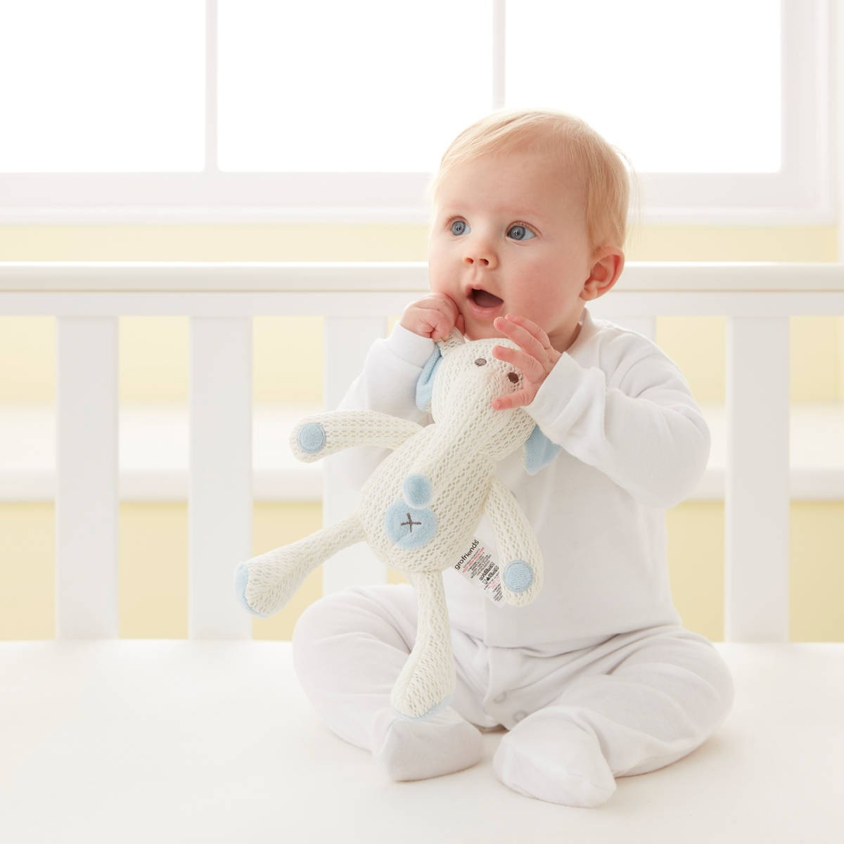 baby antibacterial safety breathable soft toys 宝宝安全软布偶