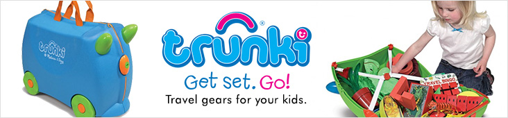 Trunki Award winning nursery and toys